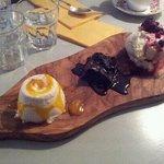 3 on a raft dessert