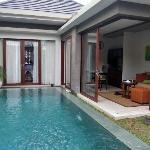 One Bedroom Villa - View from daybed. Superb!