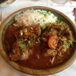Lamb Tagine, a speciality of Truffle