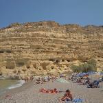 spiaggia Matala, niente di che