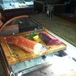 Lachs und Thunfisch Sashimi