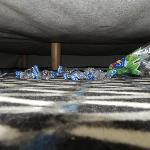 Sporcizia sotto il letto