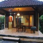 bungalow vu du jardin