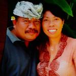 Made and his wife Wayan