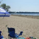 Lovely, peaceful day at Alburg Dunes State Park Beach