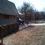 Game drive boarding point