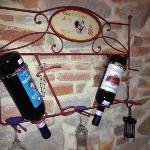 le bottiglie di vino disponibili in camera(2 prezzi)