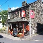 Lucy4 Wine Bar & Bistro on a typical Ambleside sunny day!