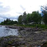 Shoreline of Superior at Cottages
