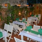 Outside Restaurant - Opened air-BLUE GECKO RESTAURANT & BAR IN HOI AN - VIET NAM