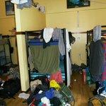 12 jangzeit Gäste in einem ca. 12/6 m Raum ohne Schrank oder verstau Raum.