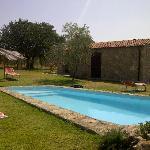 Achterzijde - zicht van aan het zwembad
