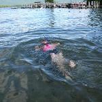 Snorkeling at Golden Sands