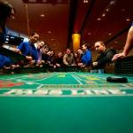 Gaming Action at the Craps Tables!