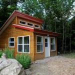 Cozy private cabins