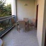 Terrazzo con tavolo 4 posti