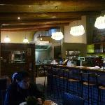Bar en eetruimte