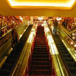 GOING UP TO SECOND FLOOR CASINO AND RESTAURANTS