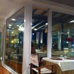veranda del ristorante Soleiado