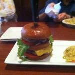 Ruby Tuesday's Colossal Birthday burger