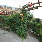Belvedere restaurant in the old village of Platanias