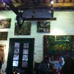 restaurant y galería de arte