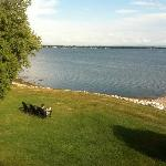 Lake Champlain View from Thomas Mott House 8/12