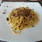 Tagliatini with tartufo