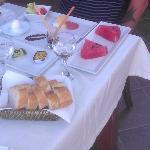 The inclusive Turkish breakfast! Wow