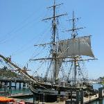 the tall ship Pilgrim