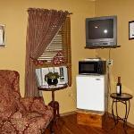 Motel frig & microwave