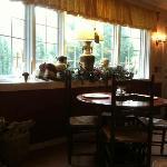 Elegant breakfast room, Nutmeg Inn