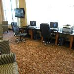 Guest pc's and internet area