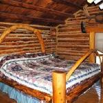 Inside Slim's cabin