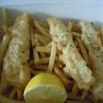 "Daily Grill Fish and Chips ""To Go"""