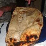 Got to be the biggest Naan bread we'd ever seen.......!!