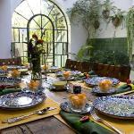 Casa de la Noche table setting