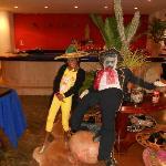 Mexican Restaurant had a fun time