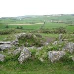 Drombeg Stone Circle in quiet pastureland