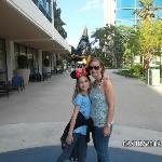 La entrada desde el Downtown Disney