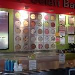 Ice cream selection