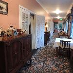 Breakfast area and Sunroom