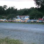 Blick von Strandparkplatz