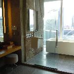 パークハイアットソウル浴室