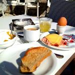 Breakfast Included at Paradise View Hotel