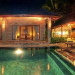 2 Bedroom Villa at Night