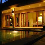 2 Bedroom Villa at Night
