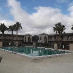 Zone piscine.
