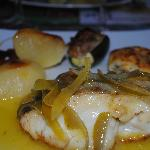 cod with citron beurre blanc