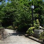 亥鼻公園の北側の出入口